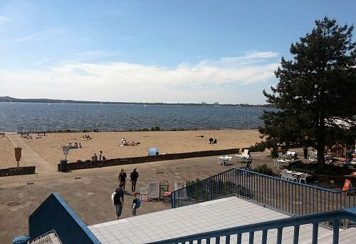 Strandbereich Strandbad Müggelsee