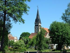 Die Dorfkirche in Rahnsdorf