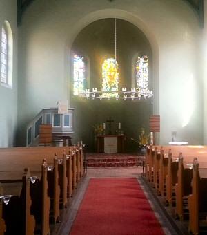 Kirchenschiff Rahnsdorf