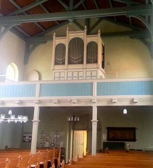 Dinse-Orgel Kirche Rahnsdorf