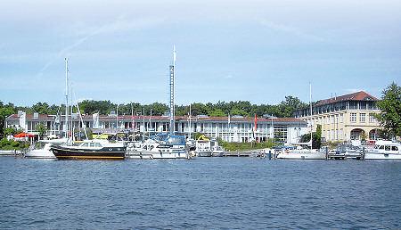 Hotel Spreeidyll - Ansicht von der Wasserseite