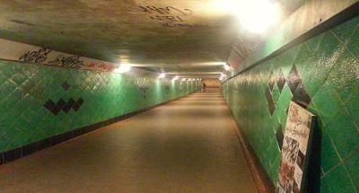 Der Spreetunneldurchgang